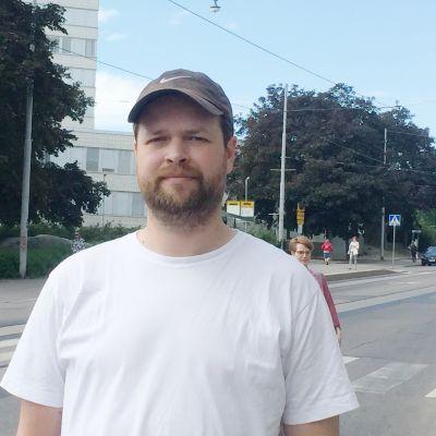 Johnes Ekholm, medlem av arbetsvägrarförbundet