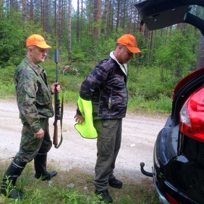 SRVA-miehiä Lieksassa