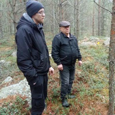 Joni ja Pauli Lehtola.