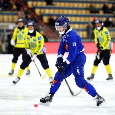 Tuomas Määttä pronssiottelussa 2019.
