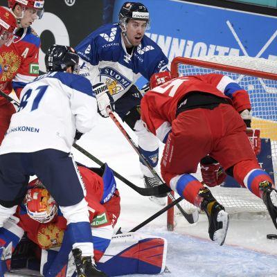 Leijonat vs Venäjä