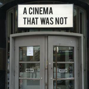 Caspar Strackes utställning A cinema that was not