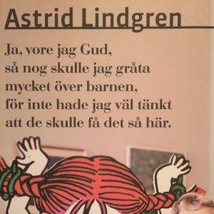Astrid Lindgren i utställningen Der Luthereffekt i Berlin