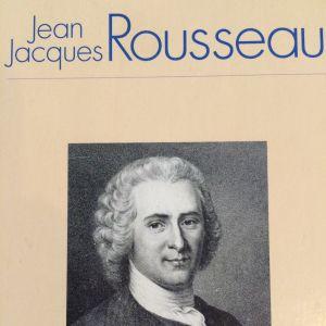 Bokpärm - jean Jaques Rousseau.