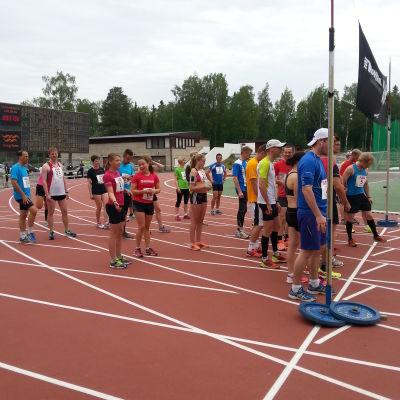 Starten vid West coast race 2014 i Vasa