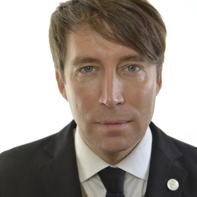 Sverigedemokraternas partisekreterare Richard Jomshof.