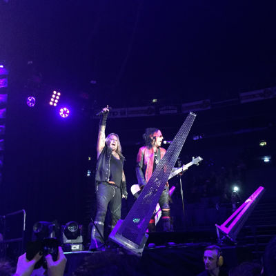 Mötley Crüe i Helsingfors 18.11.2015
