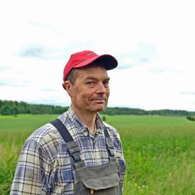 Magnus Selenius är bonde i Esbo.