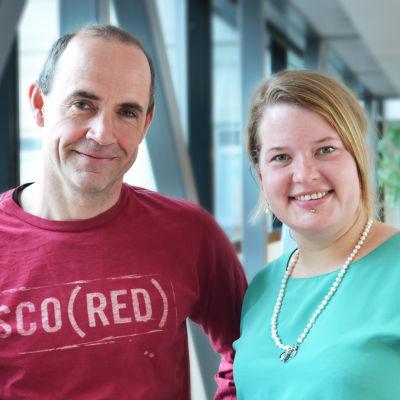 Fritjof Sahlström och Maria Vuorelma