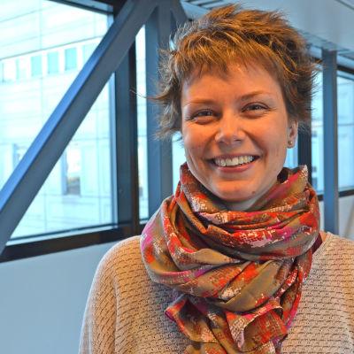 Karin Nordström är regionkoordinator för Finlands svenska scouter i Östra Nyland och Huvudstadsregionen.