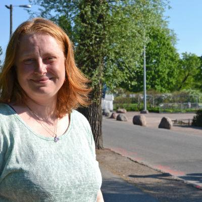 Johanna Eurakoski, kommunikationschef för Världen i byn.