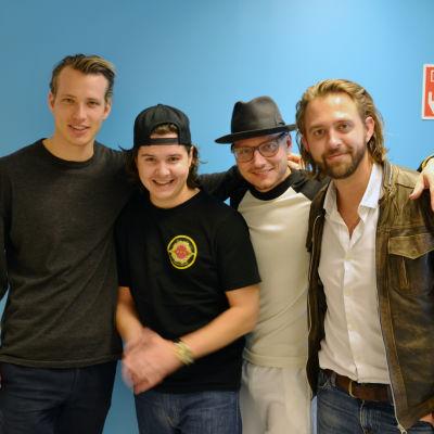 Bild på bandet.