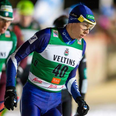 Polven rasitusvammasta kärsinyt Eero Hirvonen on joukkueen mukana Ramsaussa.
