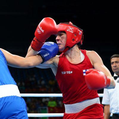 Mira Potkonen olympialaisissa 2016