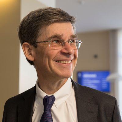 European Leadership Networkin johtaja Sir Adam Thomson vierailee parhaillaan Suomessa.
