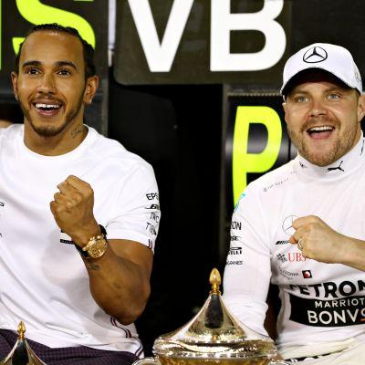 Lewis Hamilton, Valtteri Bottas