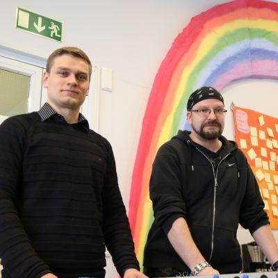 Tapio Niskanen ja Mikko Karasola