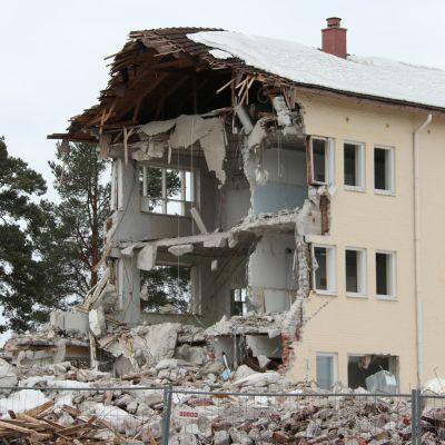Pudasjärven vanha koulu.