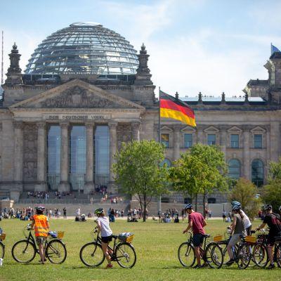 Pyöräily on paras tapa tutustua Berliiniin.