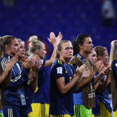 Ruotsi koki kirvelevän tappion MM-välierässä ja pelaa lauantaina pronssista Englantia vastaan.