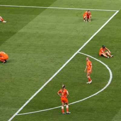 Hollannin naisten jalkapallomaajoukkue