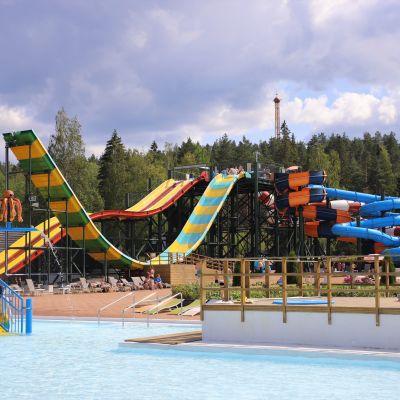 Kouvolan Aquapark-vesipuisto.