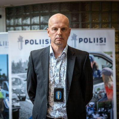 Ylikomisario Harri-Pekka Pohjolainen