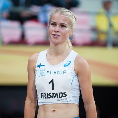 Alisa Vainio on nousukunnossa MM-kisojen kynnyksellä.