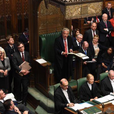 Britannian parlamentti