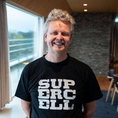 Supercellin talouspäällikkö Heikki Puomila