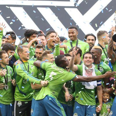 Seattle Sounders juhlii MLS-mestaruutta