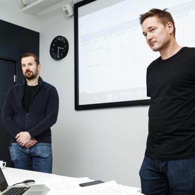 Mikko Kodisoja ja Ilkka Paananen