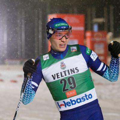 Eero Hirvonen Rukalla 2019.