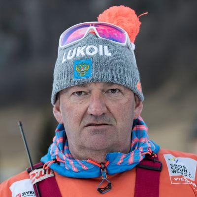 Venäjän hiihtomaajoukkueen valmentaja Markus Cramer