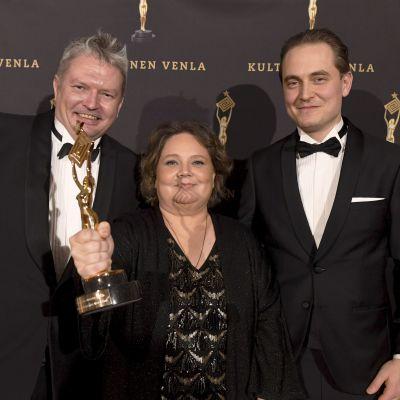 Anssi Nyberg, Marianne Miettinen ja Antti Ennekari