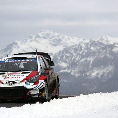 Sébastien Ogier Monte Carlon MM-ralli