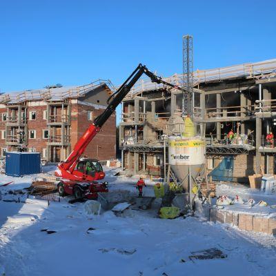 Oulun Kaakuriin valmistuu kaksi painovoimaisella ilmanvaihdolla varustettua kerrostaloa.