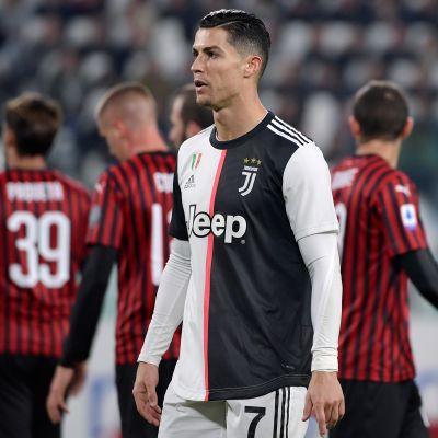 Ronaldo Juventus Milan