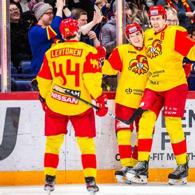 Mikko Lehtonen, Aleksi Halme, Marko Anttila.