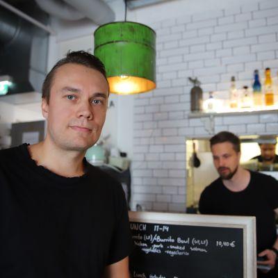 Ravintolayrittäjä Juha Eskelinen Rovaniemi