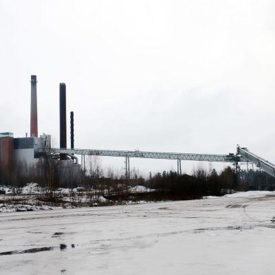 Myllykosken vanha paperitehdas Kouvolassa