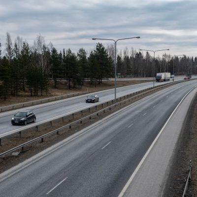 Moottoritie 3 Lempäälässä