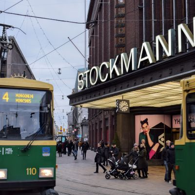 File photo of Stockmann department store in downtown Helsinki February 1, 2017.