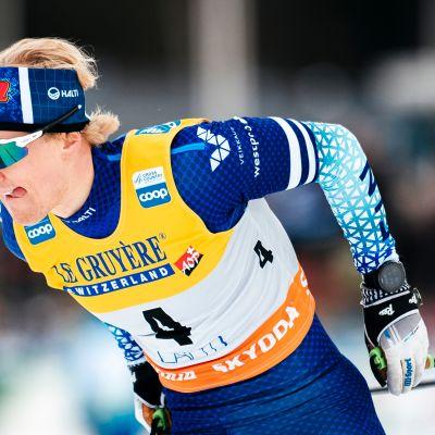 Lauri Lepistö kuului muutama vuosi sitten Suomen kovimpiin hiihtolupauksiin.