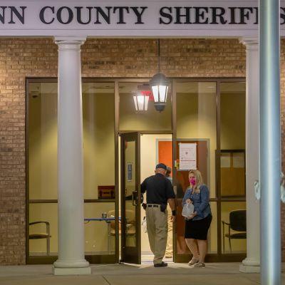 Kuva Glynnin piirikunnan polisiasemasta.