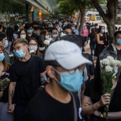 Hongkong protesti 15.6.2020