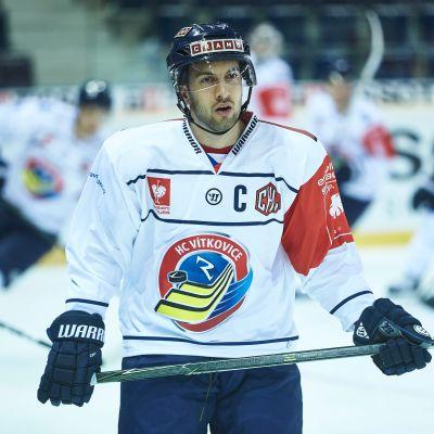 Ondrej Roman Vitkovicen paidassa vuonna 2016.