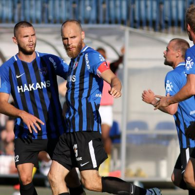 Arttu Hoskonen, Timo Furuholm ja Rick Ketting.