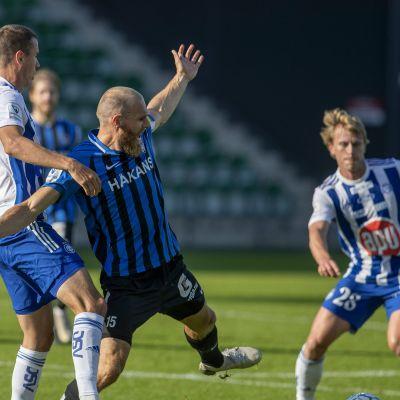 FC Interin Timo Furuholm HJK-ottelussa