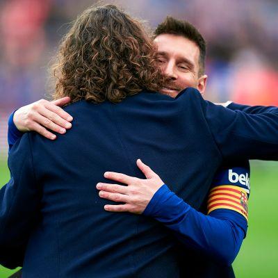 Lionel Messi, Carles Puyol